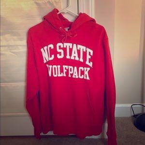 Champion Shirts - Mens Champion NC State Hoodie